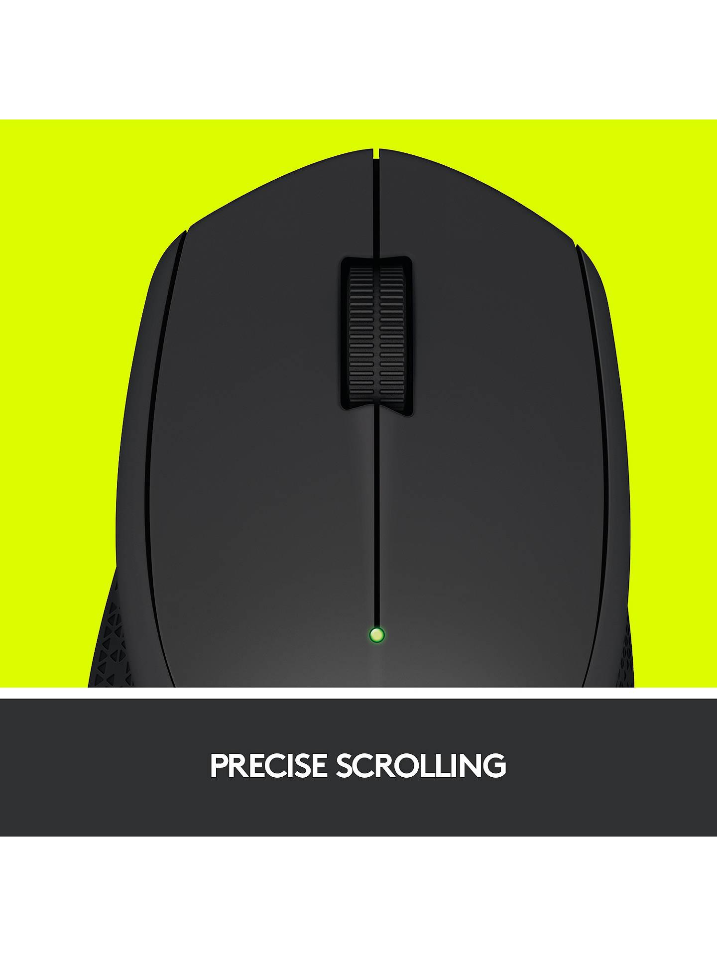 f632be25b0d ... Buy Logitech M280 Wireless Mouse, Black Online at johnlewis.com ...