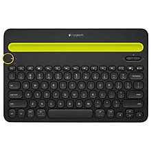 Buy Logitech K480 Multi-Device Bluetooth Keyboard Online at johnlewis.com