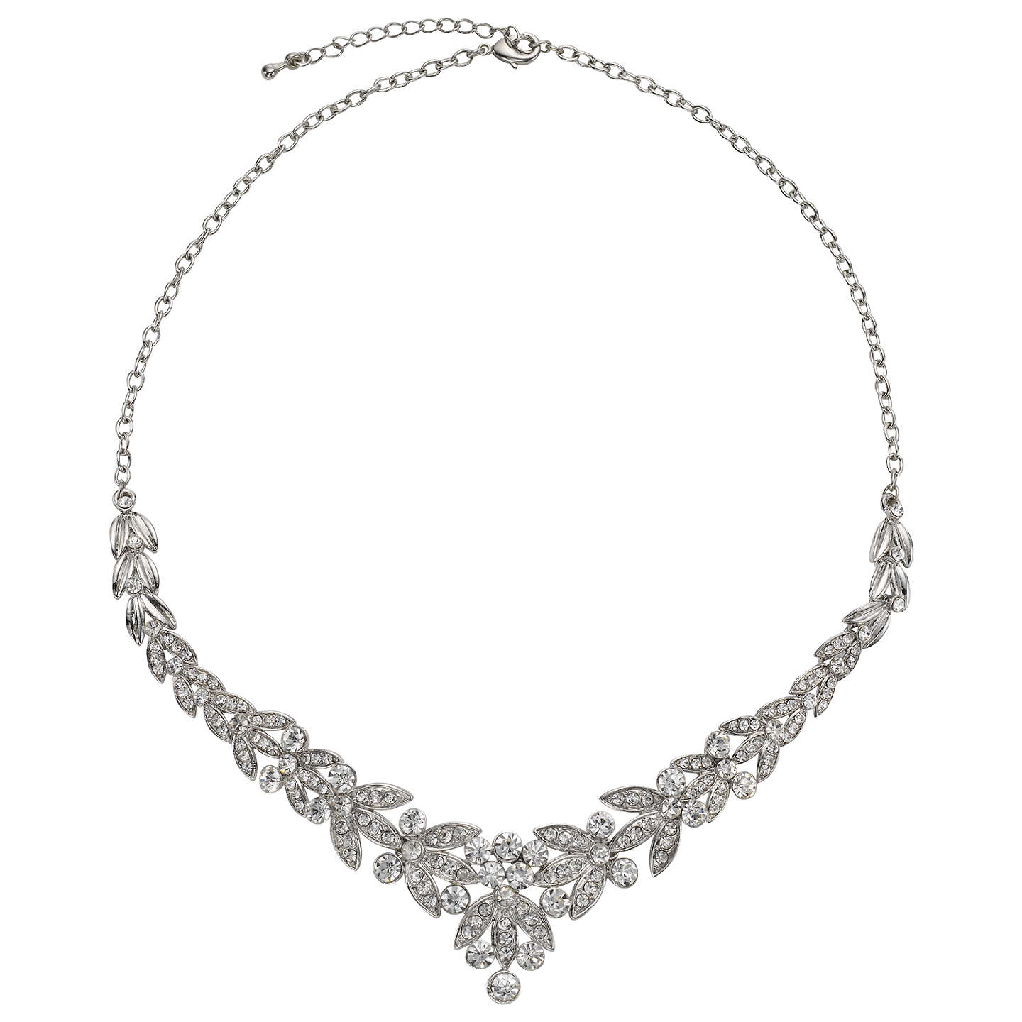 additionelle en addition gemstone statement necklace pearl and elle