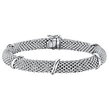 Buy Jools by Jenny Brown Sterling Silver Bead Chain Bracelet, Silver Online at johnlewis.com