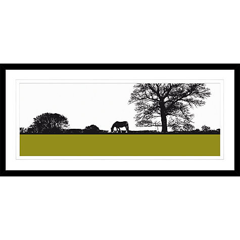 Buy jacky al samarraie landscape with horse framed print for Where to buy framed art