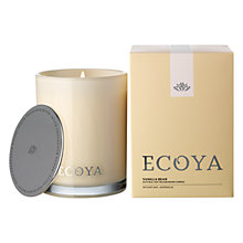 Buy Ecoya Madison Jar Vanilla Bean Candle Online at johnlewis.com