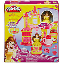 Buy Play-Doh Disney Princess Beauty and the Beast Belle's Blooming Castle Online at johnlewis.com