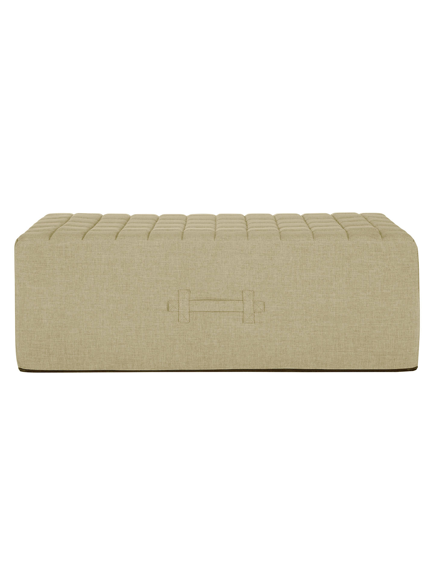 Buy House by John Lewis Kix Double Sofa Bed, Oslo Putty Online at johnlewis.com