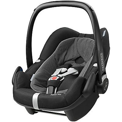 Maxi-Cosi Pebble Plus i-Size Group 0+ Baby Car Seat, Black Raven