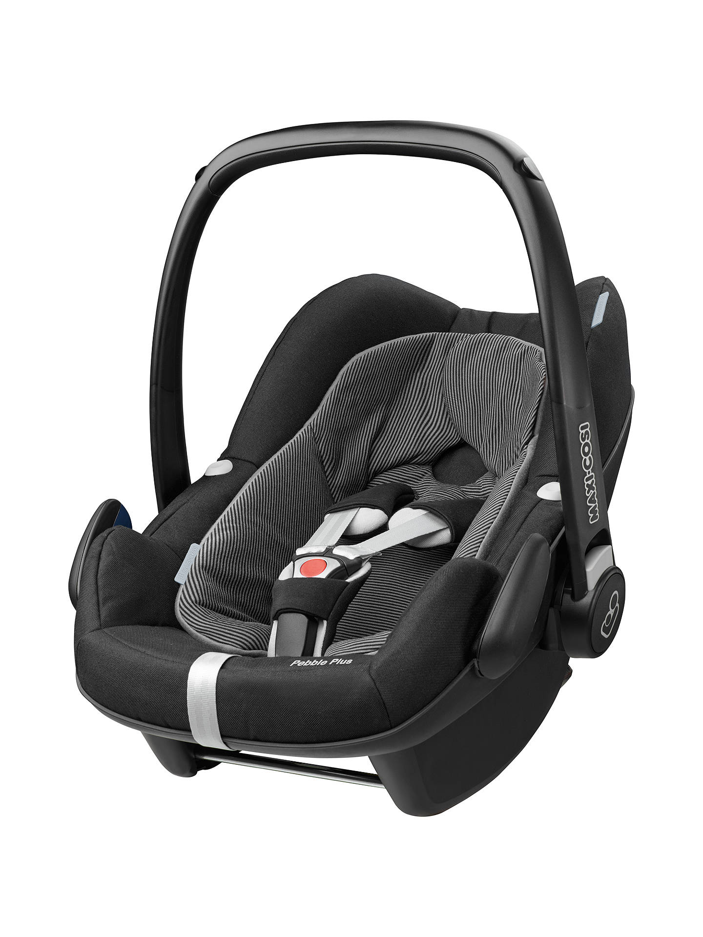 maxi cosi pebble plus i size group 0 baby car seat black raven at john lewis partners. Black Bedroom Furniture Sets. Home Design Ideas
