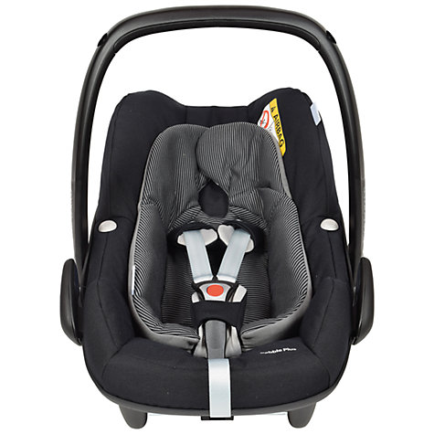 buy maxi cosi pebble plus i size group 0 baby car seat black raven john lewis. Black Bedroom Furniture Sets. Home Design Ideas