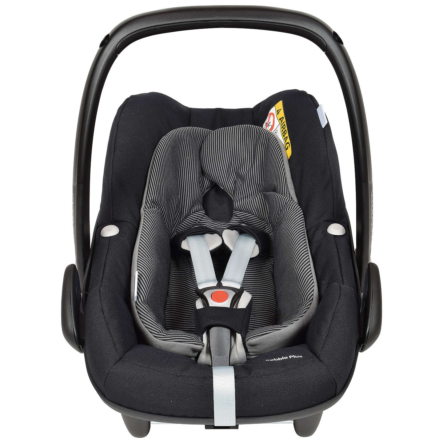 maxi cosi pebble plus i size group 0 baby car seat black. Black Bedroom Furniture Sets. Home Design Ideas