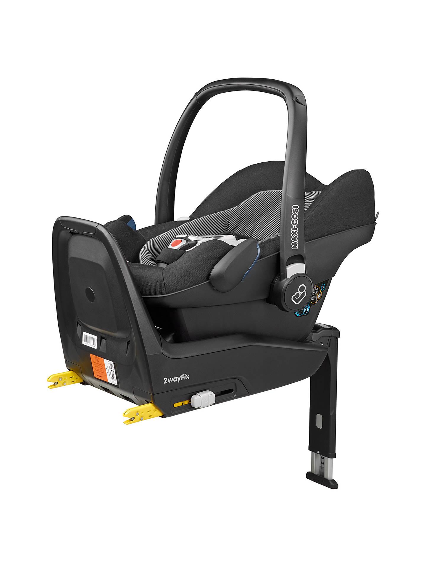 Maxi Cosi Pebble Plus I Size Group 0 Baby Car Seat Black