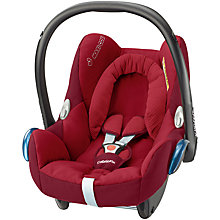 Buy Maxi-Cosi Robin Red Cabriofix Car Seat and Easy Fix Base bundle Online at johnlewis.com
