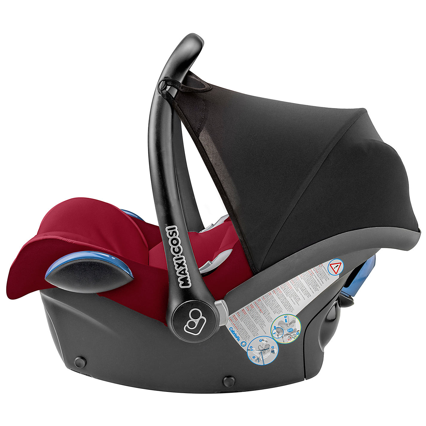 Buy Maxi Cosi CabrioFix Group 0 Baby Car Seat Robin Red Online At