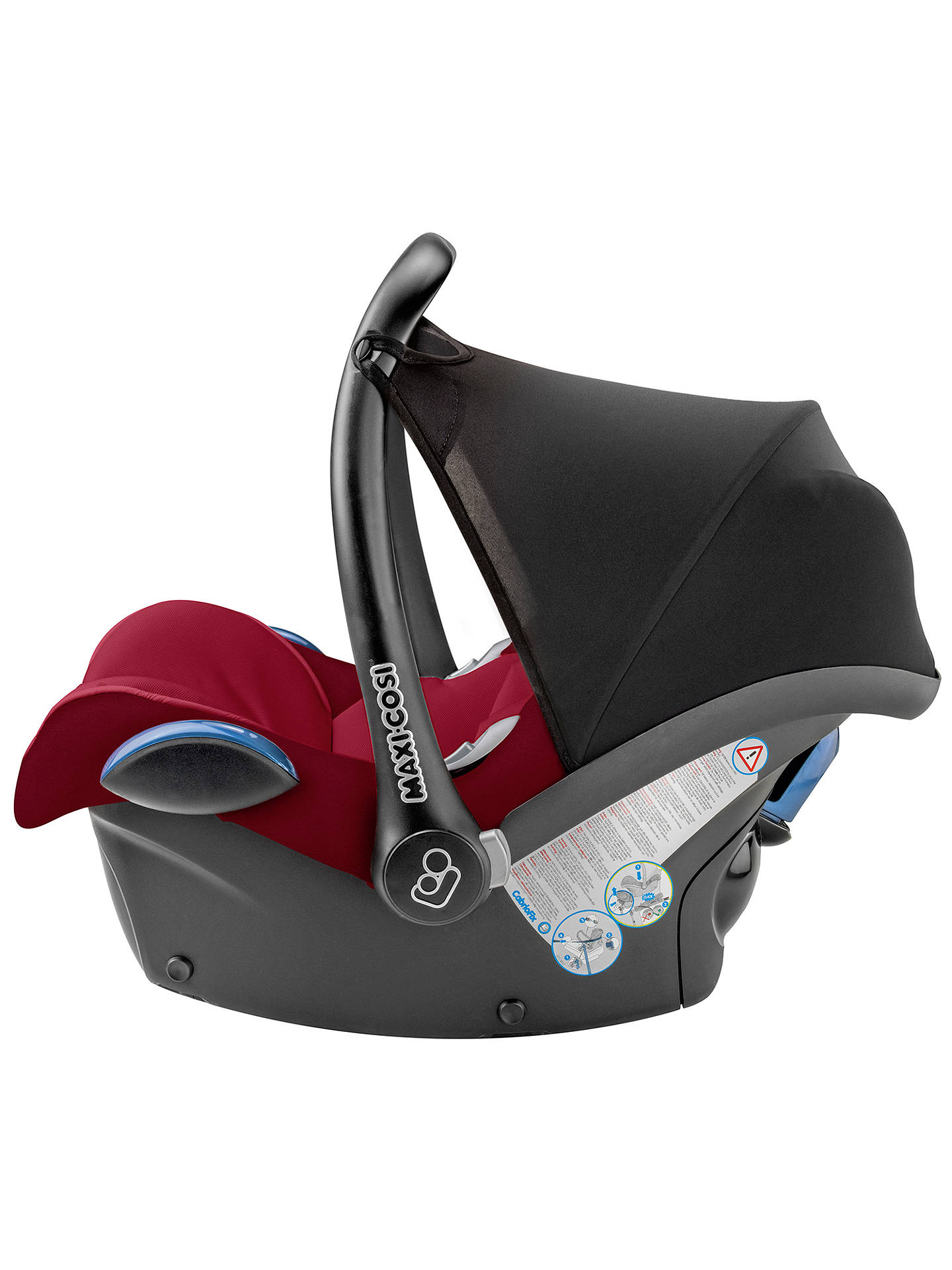 Robin Red Replacement Cover set Maxi-Cosi CabrioFix