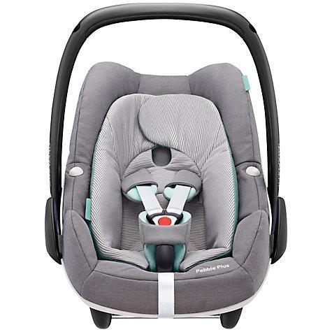 buy maxi cosi pebble plus i size group 0 baby car seat concrete grey john lewis. Black Bedroom Furniture Sets. Home Design Ideas