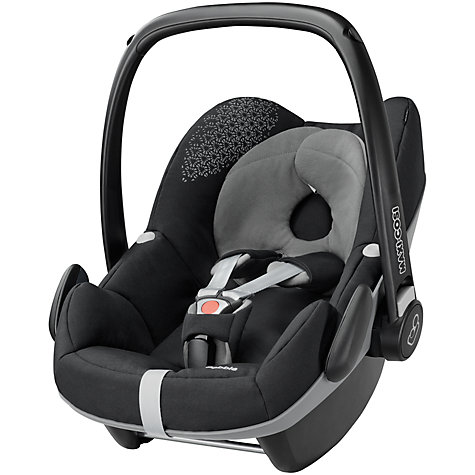 buy maxi cosi pebble group 0 baby car seat origami black john lewis. Black Bedroom Furniture Sets. Home Design Ideas