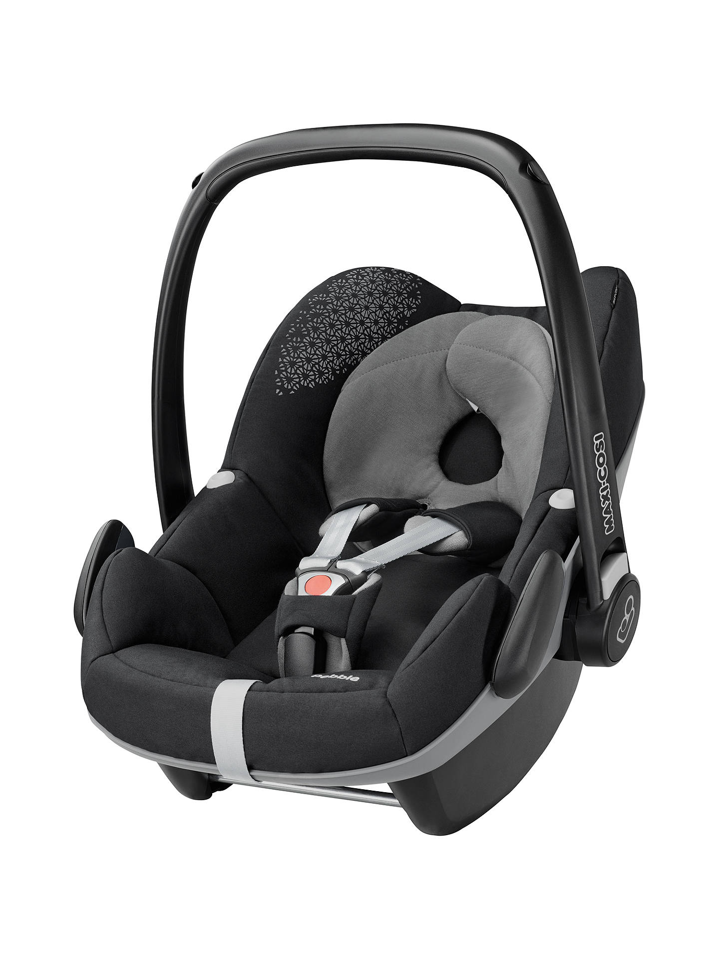 maxi cosi pebble group 0 baby car seat origami black at john lewis partners. Black Bedroom Furniture Sets. Home Design Ideas