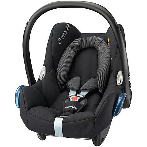 Buy Maxi-Cosi CabrioFix Group 0+ Baby Car Seat, Black ...