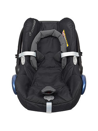Buy Maxi-Cosi CabrioFix Group 0+ Baby Car Seat, Black Raven Online at johnlewis.com