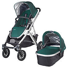 Buy Uppababy Vista 2015 Pushchair and Carrycot, Ella Online at johnlewis.com