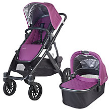 Buy Uppababy Vista 2015 Pushchair and Carrycot, Samantha Online at johnlewis.com