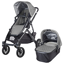 Buy Uppababy Vista 2015 Pushchair and Carrycot, Pascal Online at johnlewis.com