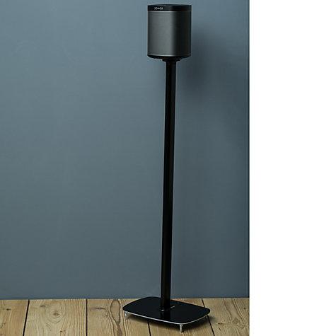 buy flexson sonos play 1 floor stand john lewis. Black Bedroom Furniture Sets. Home Design Ideas
