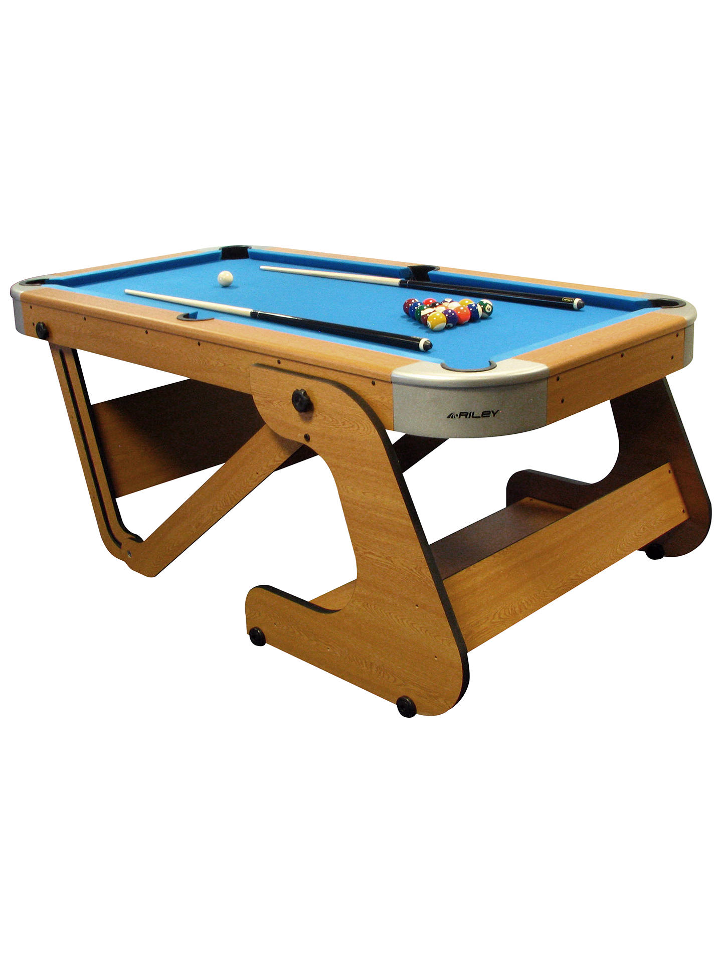 BCE Foot Inch Folding Pool Table At John Lewis Partners - Six foot pool table