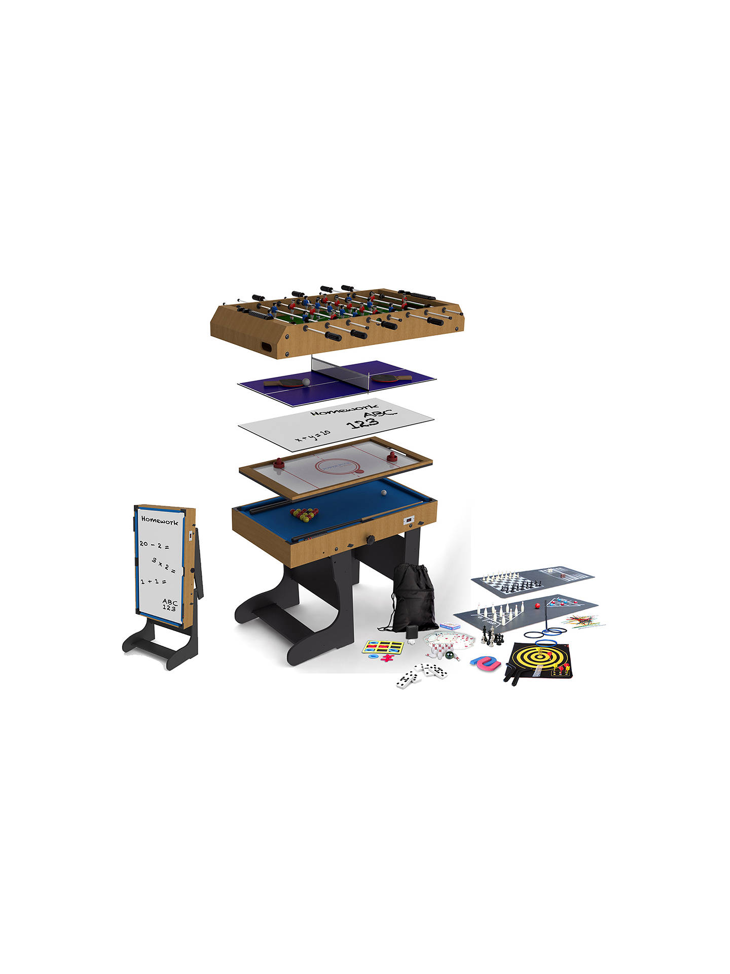 Tremendous Bce Riley 4 Foot Folding 21 In 1 Multi Game Table Home Interior And Landscaping Elinuenasavecom