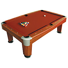 Buy BCE Riley Rosemont 7 Foot Pool Table, Red Online at johnlewis.com