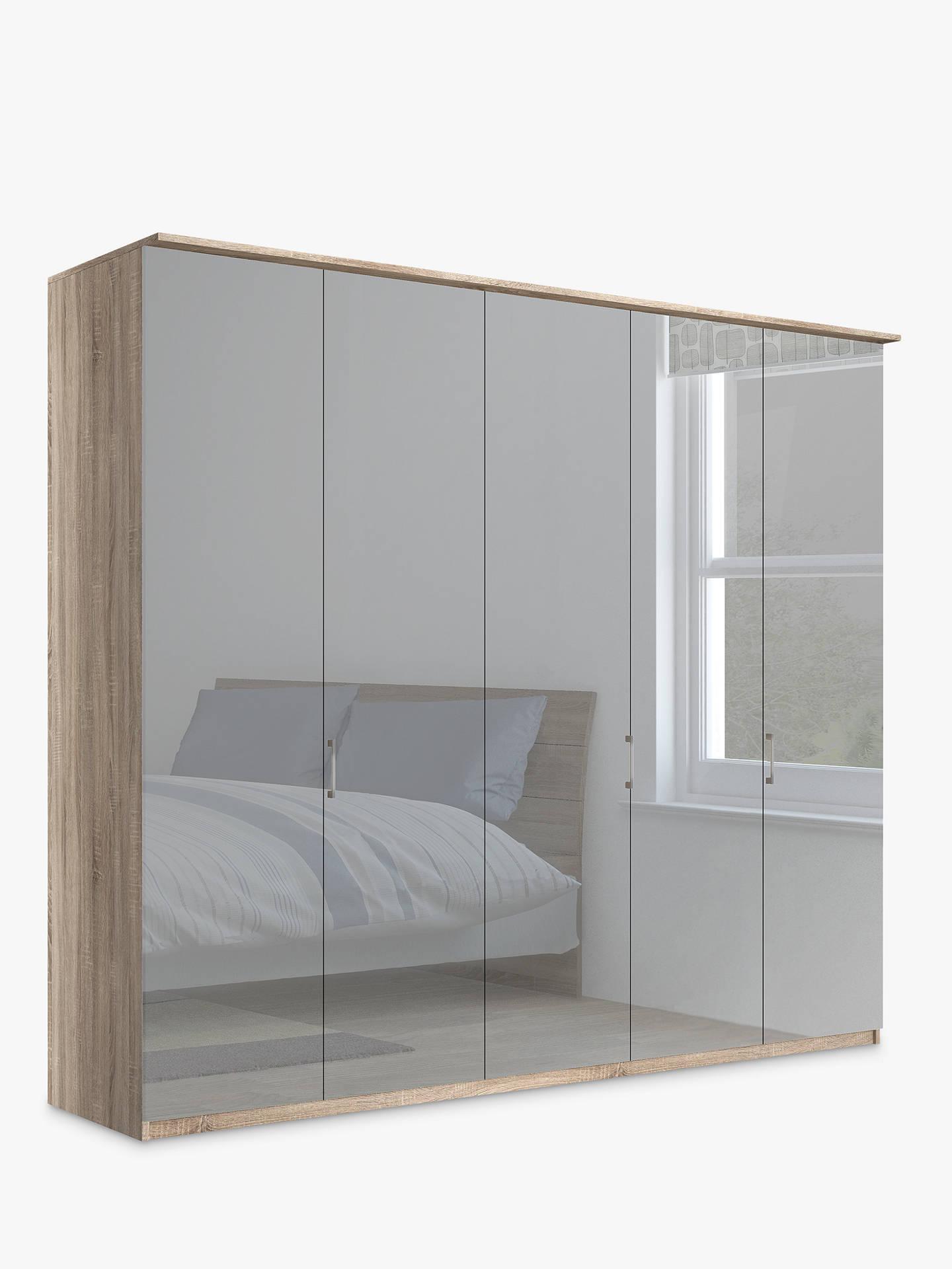 john lewis partners elstra 250cm wardrobe with mirrored. Black Bedroom Furniture Sets. Home Design Ideas