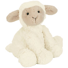 Buy Jellycat Fuddlewuddle Lamb Soft Toy, Medium, Cream Online at johnlewis.com