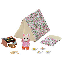 Buy Sylvanian Families Seaside Camping Set Online at johnlewis.com