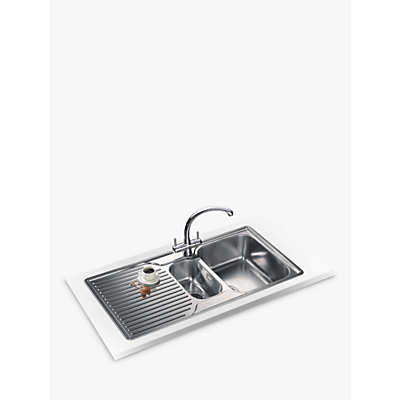 Franke Ariane ARX 651P Right Hand 1.5 Bowl Sink Stainless Steel