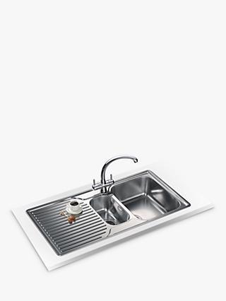 Stainless Steel   Kitchen Sinks   John Lewis & Partners