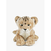 Buy Living Nature Lion Cub 35cm Soft Toy Online at johnlewis.com