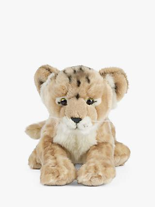 Living Nature Lion Cub Soft Toy