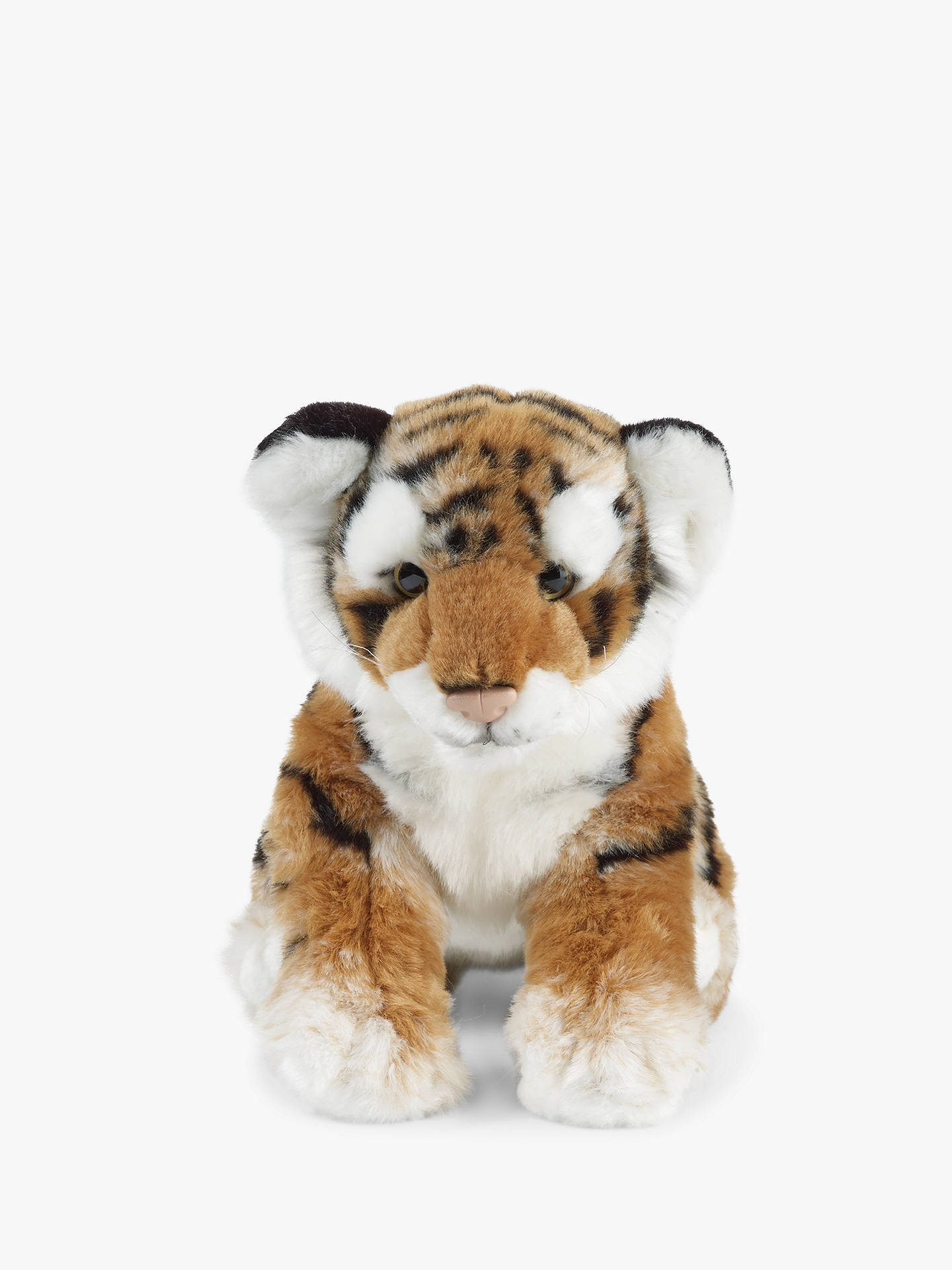 Buy Living Nature Tiger Cub Soft Toy Online at johnlewis.com