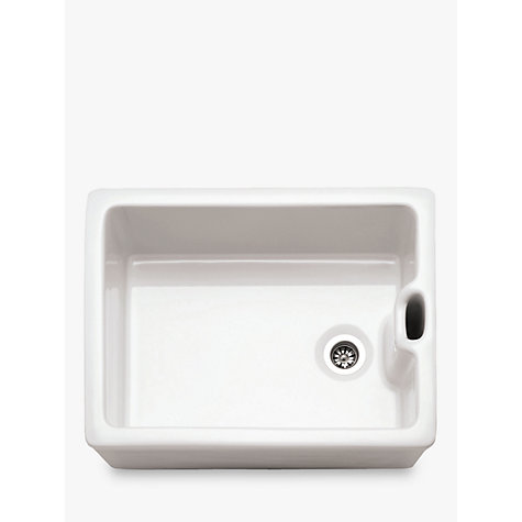 Buy Franke Belfast BAK 710 Single Bowl Kitchen Sink, White | John ...