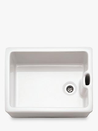Franke Belfast BAK 710 Single Bowl Kitchen Sink, White