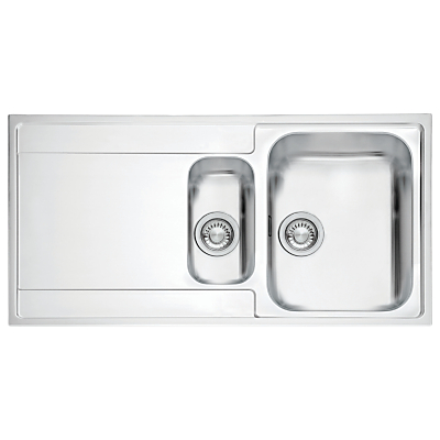 Franke Maris MRX 251 Right Hand 1.5 Bowl Sink Stainless Steel