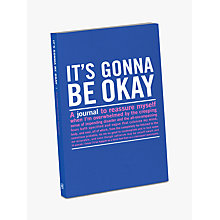 Buy Knock Knock Gonna Be Okay Journal Online at johnlewis.com