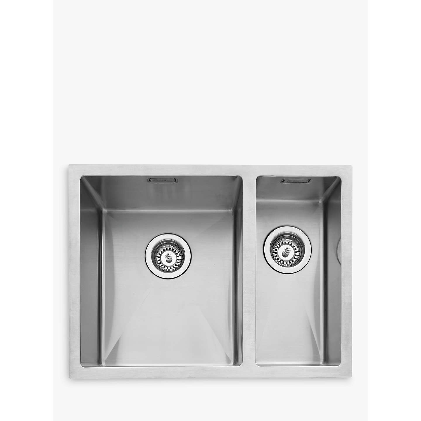 larger kitchen sinks view inundermount lowe steel kindred undermount s drop stainless canada sink in