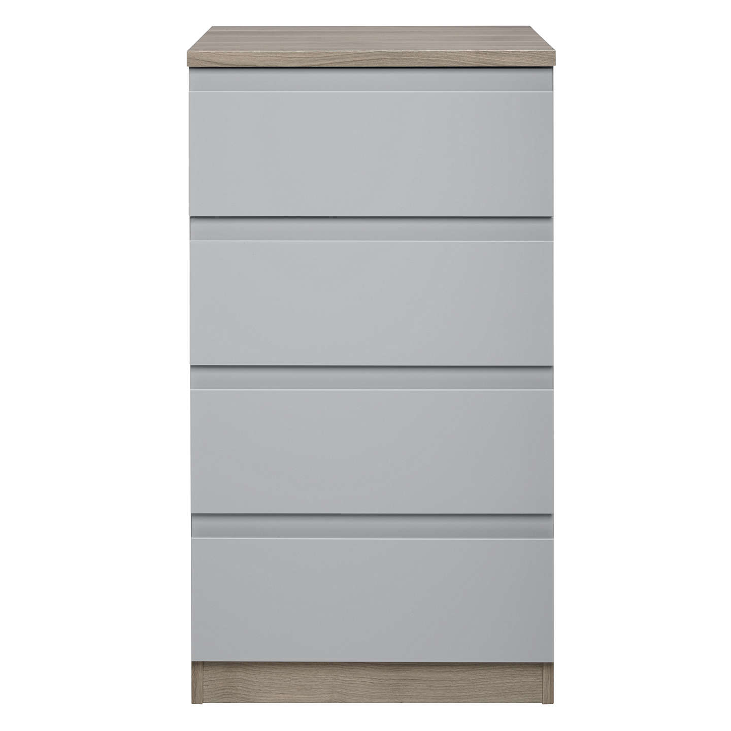 BuyHouse by John Lewis Mix it Narrow 4 Drawer Chest, House Smoke/Grey Ash Online at johnlewis.com