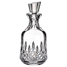 Buy Waterford Lismore Connoisseur Rounded Crystal Decanter Online at johnlewis.com