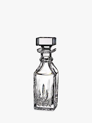 Waterford Lismore Connoisseur Square Cut Lead Crystal Decanter, 500ml