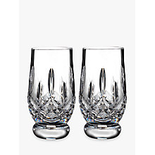 Buy Waterford Lismore Connoisseur Cut Lead Crystal Whisky Tasting Tumblers, 170ml, Set of 2 Online at johnlewis.com