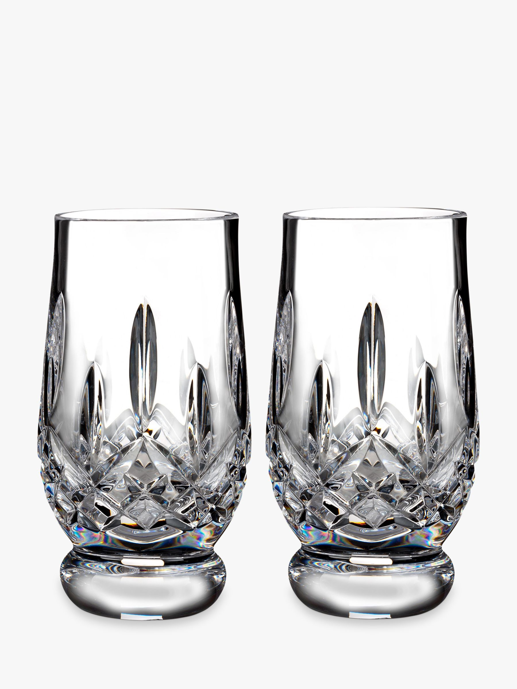 Waterford Waterford Lismore Connoisseur Cut Lead Crystal Whisky Tasting Tumblers, 170ml, Set of 2