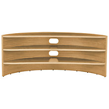 "Buy Tom Schneider Curvature 1500 TV Stand for TVs up to 65"" Online at johnlewis.com"