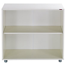 Buy Stompa Uno S Plus Bookcase, White Online at johnlewis.com