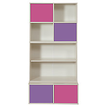 Buy Stompa Uno S Plus Tall 3 Unit Storage Combination, Pink/Purple Online at johnlewis.com