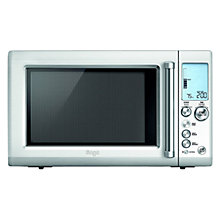 Buy Sage by Heston Blumenthal Quick Touch Microwave Oven, Silver Online at johnlewis.com